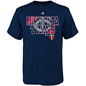 Majestic Youth Minnesota Twins Spark Navy T-Shirt