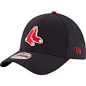 New Era Men's Boston Red Sox 39Thirty Alternate Classic Navy Flex Hat