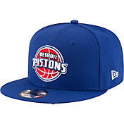 New Era Men's Detroit Pistons 9Fifty Adjustable Snapback Hat