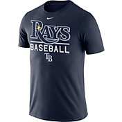 Nike Men's Tampa Bay Rays Practice Navy T-Shirt