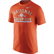Nike Men's Clemson Tigers 2016 National Champions Celebration Stripe T-Shirt