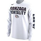 Nike Men's Gonzaga Bulldogs 'Mentality' Bench Legend Long Sleeve Shirt