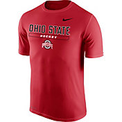 Nike Men's Ohio State Buckeyes Scarlet Hockey Legend T-Shirt