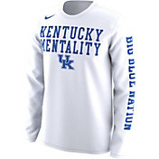 Nike Men's Kentucky Wildcats 'Mentality' Bench Legend Long Sleeve Shirt