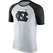 Nike Men's North Carolina Tar Heels Oatmeal/Black Gridiron Grey Jersey Hook T-Shirt