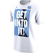 Jordan Men's North Carolina Tar Heels 'Get Into It!' Bench Legend T-Shirt