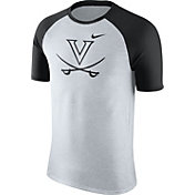 Nike Men's Virginia Cavaliers Oatmeal/Black Gridiron Grey Jersey Hook T-Shirt