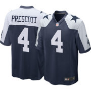 Nike Men's Throwback Home Game Jersey Dallas Cowboys Dak Prescott #4
