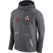 Nike Men's Super Bowl LI Bound Atlanta Falcons Matt Ryan #2 Quarter-Zip Media Night Jacket