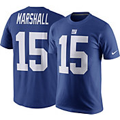 Nike Men's New York Giants Brandon Marshall #15 Pride Blue T-Shirt