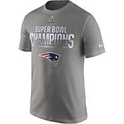 Nike Men's Super Bowl LI Champions New England Patriots Parade Grey T-Shirt