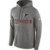 Nike Men's Super Bowl LI Bound Atlanta Falcons Travel Grey Circuit Hoodie
