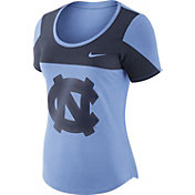 Nike Women's North Carolina Tar Heels Carolina Blue Enzyme Washed Scoop Neck T-Shirt
