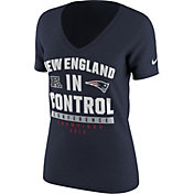 Nike Women's AFC Champions New England Patriots In Control Navy T-Shirt