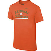 Nike Youth Clemson Tigers 2016 National Champions Celebration Stripe T-Shirt