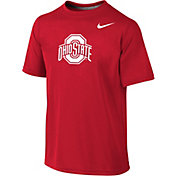 Nike Youth Ohio State Buckeyes Scarlet Logo Legend T-Shirt