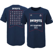 Nike Youth AFC Champions New England Patriots Roster T-Shirt