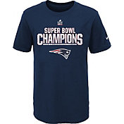 Nike Youth Super Bowl LI Champions New England Patriots Parade Navy T-Shirt