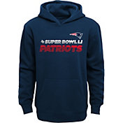 NFL Team Apparel Youth Super Bowl LI Bound New England Patriots Invitee Hoodie