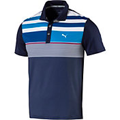PUMA Boys' Road Map Asym Jr. Golf Polo