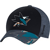 Reebok Men's San Jose Sharks Structured Flex Hat