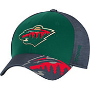 Reebok Men's Minnesota Wild Structured Flex Hat