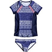 Girls' Rash Guards & Swim Shirts