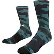 Stance Men's Bubba Camo Golf Socks