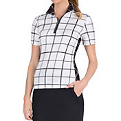 Tail Women's Elongated Convertible Collar Golf Polo