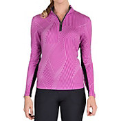 Tail Women's Mock Neck Long Sleeve Golf Pullover