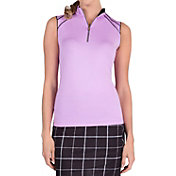 Tail Women's Sporty Seams Sleeveless Golf Top