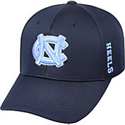 Top of the World Men's North Carolina Tar Heels Navy Booster Plus 1Fit Flex Hat