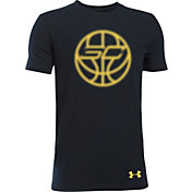 Under Armour Boys' SC30 Vision Ball Graphic Basketball T-Shirt