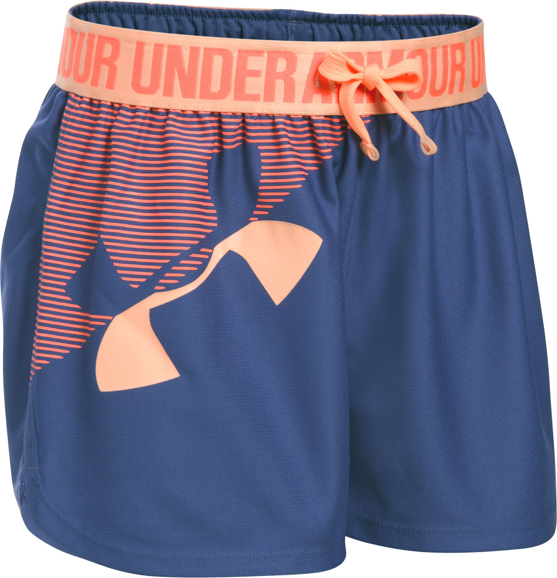 Under Armour Girls Graphic Play Up Shorts DICKS Sporting Goods