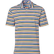 Walter Hagen Men's Standard Multi Stripe Golf Polo