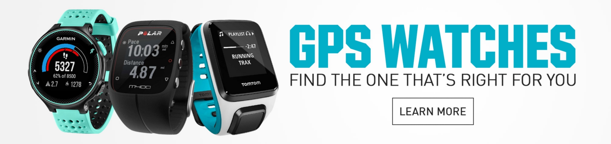 GPS Watches - Find the one that's right for you