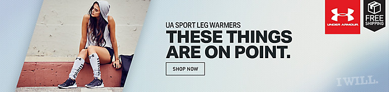 Under Armour Women's On And Off Leg Warmers