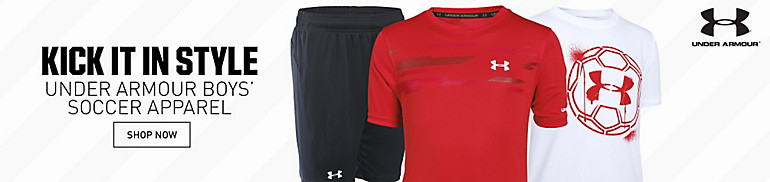 Under Armour Boys' Soccer Apparel