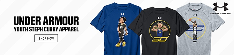 Under Armour Steph Curry Youth Apparel
