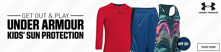 Under Armour Youth Sun Protection Apparel