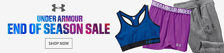 Women's Under Armour End of Season Sale