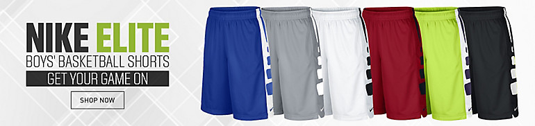 Boys' Nike Elite Stripe Shorts