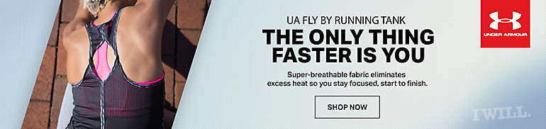 Under Armour Fly By Tanks