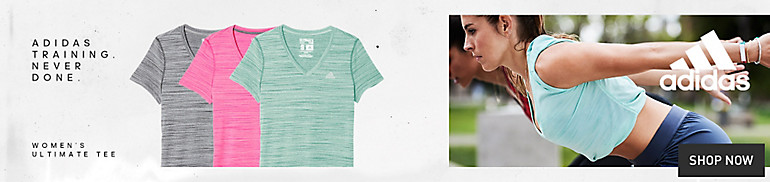 Women's adidas Ultimate Tees and Tanks