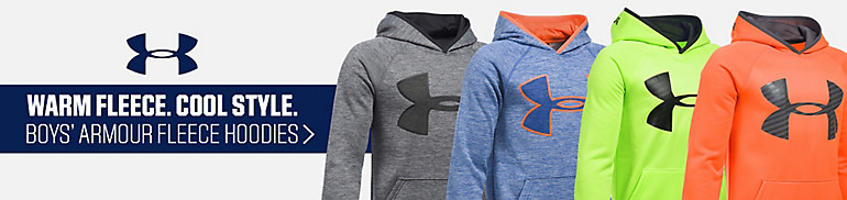 Under Armour Boys' Armour Fleece Hoodies