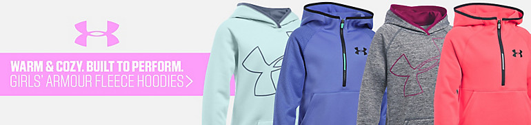 UA Girls' Armour Fleece Hoodies