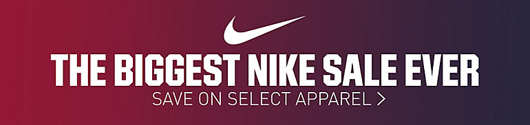 25% Off Select Nike Apparel