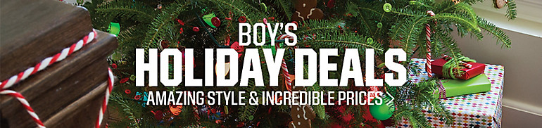 Boys' Apparel Deals