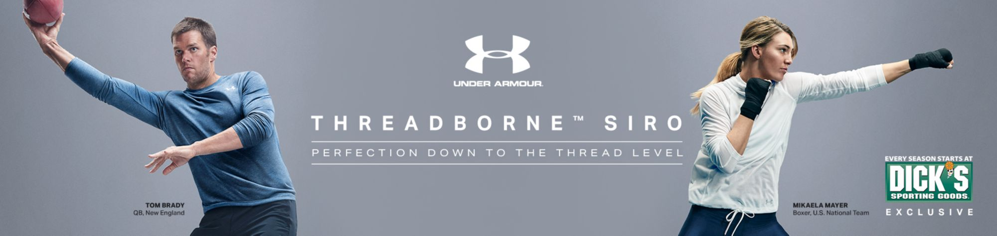 UA Threadbourne Siro- Protection Down To The Thread Level