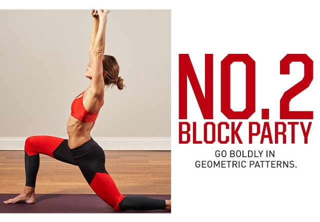 No. 2 Block Party- Go Boldly In Geometric Patterns